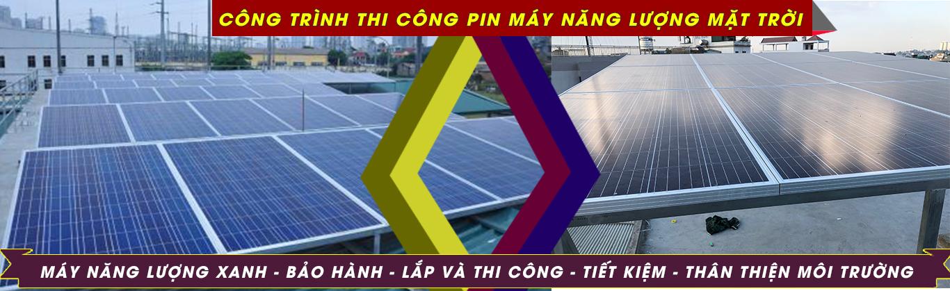 pin máy năng lượng mặt trời